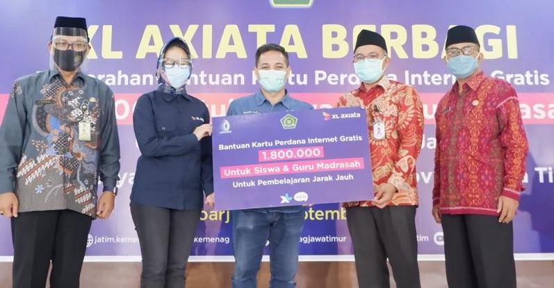 XL Berbagi di Jatim, Lampung dan Kalbar