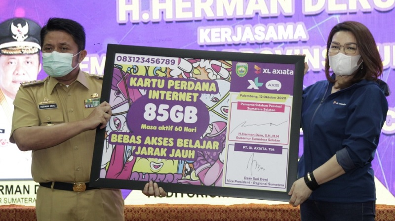 XL Corner: XL Axiata Paket Internet Gratis untuk Pelajar Sumatera Selatan dan Jambi