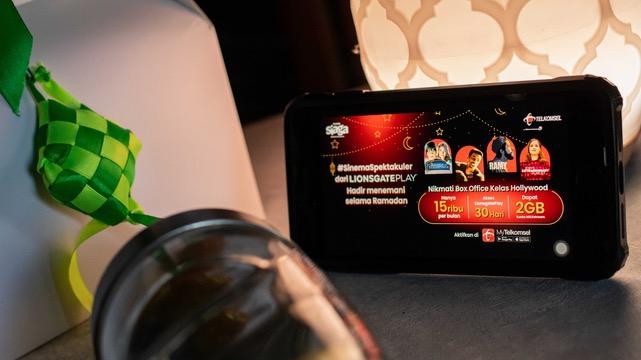 Paket Baru Telkomsel dan Lionsgate Play