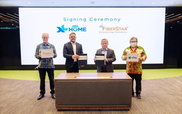 XL Perluas XL Home Bersama FiberStar