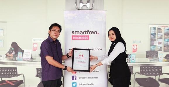 Smartfren Business Rilis Fiber in the Air, Solusi Internet Last Mile