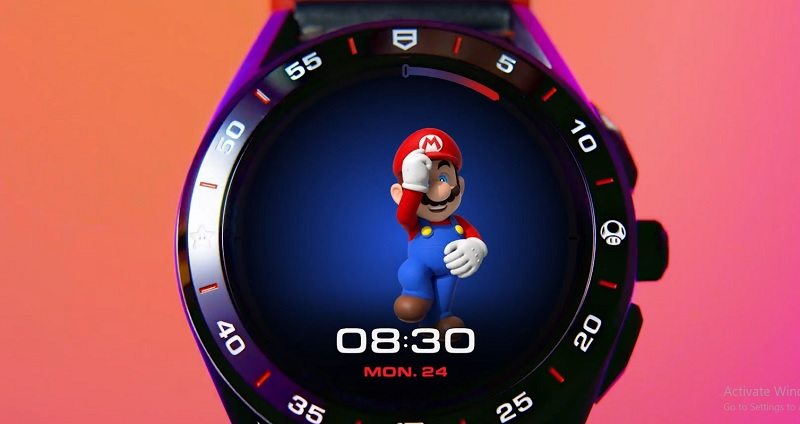 Smartwatch Tag Heuer Super Mario, Eksklusif Nih!