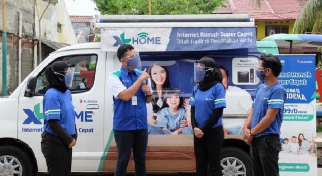 Layanan XL Home Meluas di Bandung