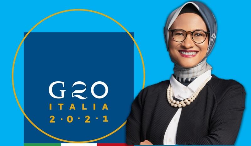 Dian Siswarini Wakili Indonesia di Konferensi Tingkat Menteri G20