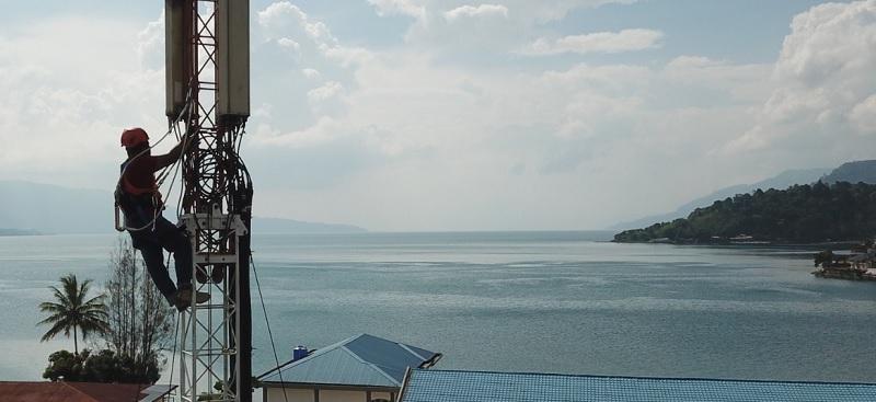 XL Axiata Sambungkan 70 Desa di Sekitar Danau Toba