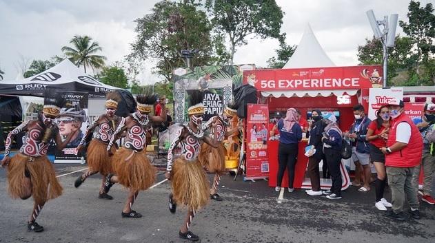 Telkomsel Gelar 5G di PON XX Papua 2021